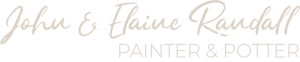 john and elaine randall: painter and potter logo