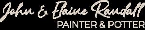 john and elaine randall: painter and potter logo